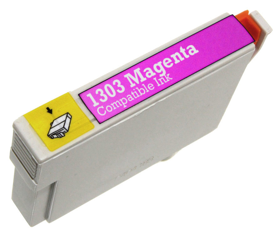 Epson T1303 purpurová (magenta) kompatibilní cartridge