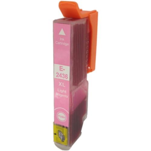 Epson T2436 XL světle purpurová (light magenta) kompatibilní cartridge
