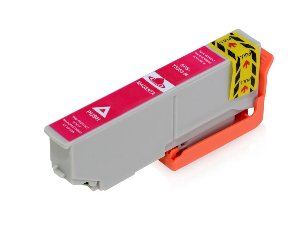 Epson T3363 purpurová (magenta) kompatibilní cartridge