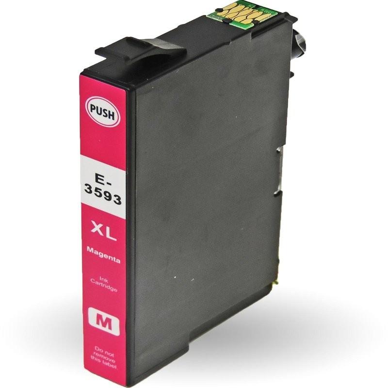 Epson 35XL T3593 purpurová (magenta) kompatibilní cartridge