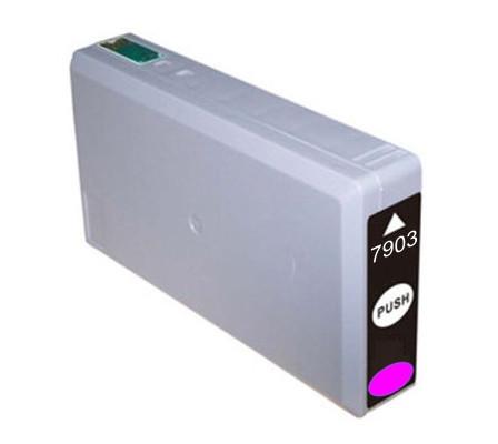 Epson T7903 purpurová (magenta) kompatibilní cartridge