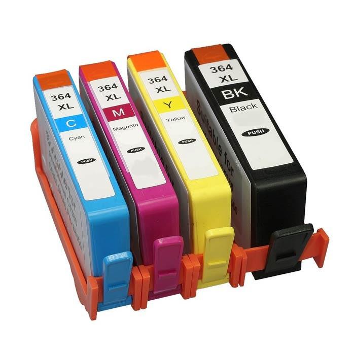 HP 364XL SD534E Bk+C+M+Y multipack kompatibilní cartridge