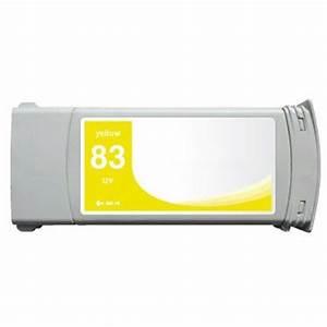 HP 83 C4943A žlutá (yellow) kompatibilní cartridge