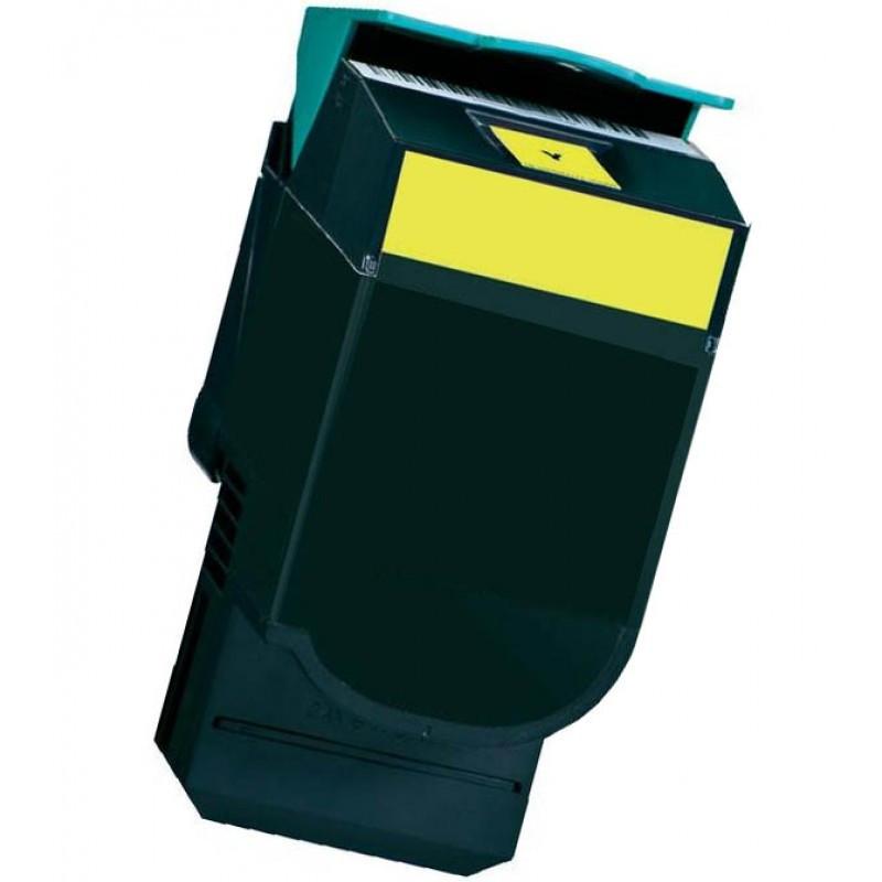 Lexmark C540H1YG žltý (yellow) kompatibilný toner Prečo kúpiť našu Chytrú náplň?  Nižšia cena kompatibilnej náplne pre tlačiarne Lexmark v porovnaní s originálnou náplňou, ušetríte až 80 % nákladov na tlač.   Tonerová cartridge pre tlačiarne Lexmark vytlačí rovnaký počet strán ako originál pri zachovaní rovnakej kvality - ostré črty, sýte farby.