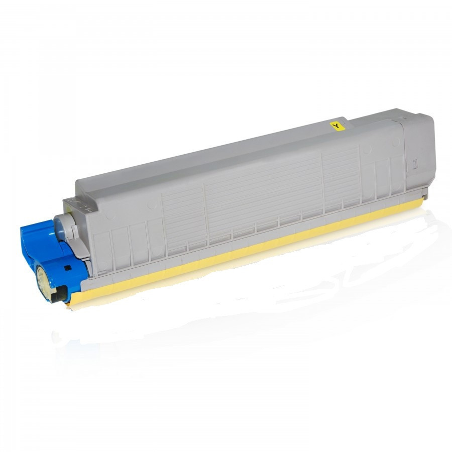 OKI 43487709 žltý (yellow) kompatibilný toner.  Nižšia cena kompatibilnej náplne pre tlačiarne OKI v porovnaní s originálnou náplňou, ušetríte až 80 % nákladov na tlač.   Tonerová cartridge pre tlačiarne OKI vytlačí rovnaký počet strán ako originál pri zachovaní rovnakej kvality - ostré črty, sýte farby.   Garancia Vašej spokojnosti.   Každý toner prechádza pri výrobe prísnou kontrolou kvality a je plne kompatibilný s vašou tlačiarňou.   Overené našimi klientmi zo SR aj z Európskej únie.   Kompatibilné tonery OKI spĺňajú normu STMC, čo je celosvetovo uznávaná norma testovania kvality tlače a počtu vytlačených strán tonerovej kazety.   Naši dodávatelia sú preverení rokmi skúseností a vyrábajú produkty podľa normy ISO 9001 a ISO 14001.    Existuje mnoho výrobcov kompatibilných náplní, ale kvalita môže byť odlišná. Kód výrobca: 43487709
