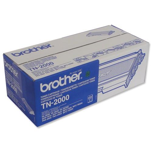Brother TN-2000 černý (black) originální toner
