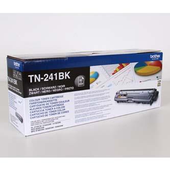 Brother TN-241BK čierný (black) originálný toner Originálny toner pre tlačiareň Brother.   Prečo kúpiť našu originálnu náplň?      Originálny toner = záruka priamo od výrobcu tlačiarne 100% použitie v tlačiarni - bezproblémové fungovanie s vašou tlačiarňou Použitím originálnej náplne predlžujete životnosť tlačiarne Osvedčená špičková kvalita - vysokokvalitná a spoľahlivá tlač originálnou tlačovou kazetou od prvej do poslednej stránky Trvalé a profesionálne výsledky tlače - dlhodobá udržateľnosť tlače Kratšie zdržanie pri tlači stránok Garancia Vašej spokojnosti pri použití našej originálnej náplne Zabezpečujeme bezplatnú recykláciu originálnych náplní Zlyhanie náplne v menej ako 1% prípadov Jednoduchá a rýchla výmena náplne TN241BK
