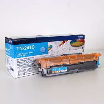 Brother TN-241C azúrový (cyan) originálný toner Originálny toner pre tlačiareň Brother.   Prečo kúpiť našu originálnu náplň?      Originálny toner = záruka priamo od výrobcu tlačiarne 100% použitie v tlačiarni - bezproblémové fungovanie s vašou tlačiarňou Použitím originálnej náplne predlžujete životnosť tlačiarne Osvedčená špičková kvalita - vysokokvalitná a spoľahlivá tlač originálnou tlačovou kazetou od prvej do poslednej stránky Trvalé a profesionálne výsledky tlače - dlhodobá udržateľnosť tlače Kratšie zdržanie pri tlači stránok Garancia Vašej spokojnosti pri použití našej originálnej náplne Zabezpečujeme bezplatnú recykláciu originálnych náplní Zlyhanie náplne v menej ako 1% prípadov Jednoduchá a rýchla výmena náplne TN241C