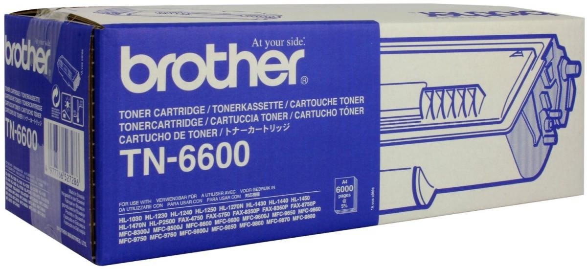 Brother TN-6600 černý (black) originální toner