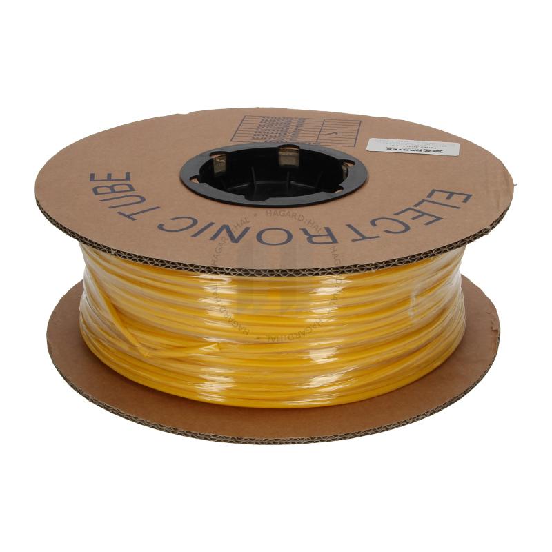 Popisovací PVC bužírka kruhová BA-35Z, 3,5 mm, 200 m, žlutá