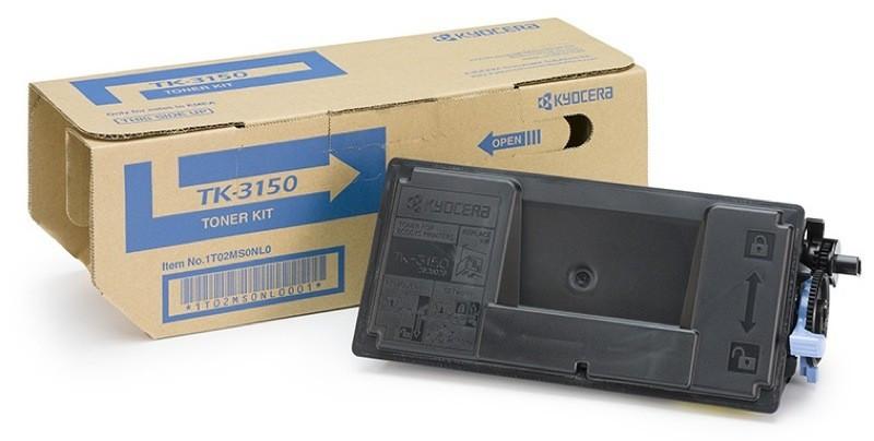 Kyocera 1T02NX0NL0 TK-3150 černý (black) originální toner