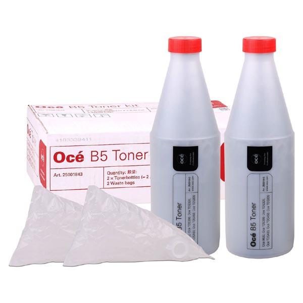 Oce originálny toner 25001843, 1070066545, black, TYP B5, Oce 9600, 2*450g Oce originálny toner 25001843, 1070066545, black, TYP B5, Oce 9600, 2*450g