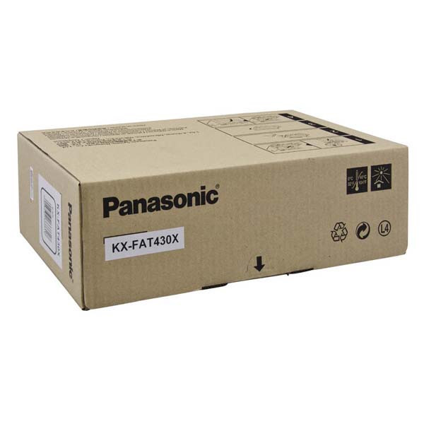 Panasonic originální toner KX-FAT430X, black, 3000str., Panasonic KX-MB 2230