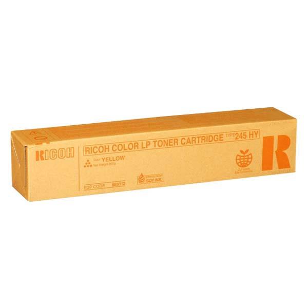 Ricoh originálny toner 888313, yellow, 15000 str., Typ 245, Ricoh Aficio CL-4000, HDN, SPC410DN, SPC420DN Originálny toner pre tlačiareň Ricoh.   Prečo kúpiť našu originálnu náplň?      Originálny toner = záruka p