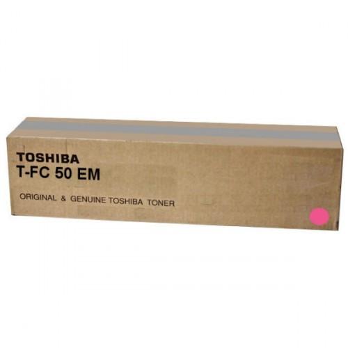 Toshiba T-FC50EM, 6AJ00000112 purpurová (magenta) originálný toner Originálny toner pre tlačiareň Toshiba.   Prečo kúpiť našu originálnu náplň?      Originálny toner = záru