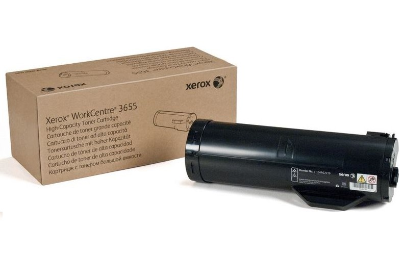 Levně Xerox originální toner 106R02739, black, 14400str., Xerox WorkCentre 3655