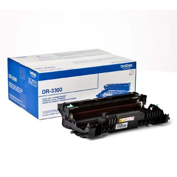 Brother DR-3300 čierna (black) originálna valcová jednotka. Prečo kúpiť našu originálnu valcovú jednotku Brother?    Originálna valcová jednotka = záruka priamo od výrobcu tlačiarne 100% použitie v tlačiarni - bezproblémové fungovanie s vašou tlačiarňou Použitím originálneho valca predlžujete životnosť tlačiarne Osvedčená špičková kvalita - originálna tlačová (valcová) kazeta poskytuje mimoriadne výsledky Trvalé a profesionálne výsledky tlače - dlhodobá udržateľnosť tlače Produktivita tlače - rovnaká tlač počas celej životnosti valca Maximálne jednoduchá obsluha rovná sa efektívna tlač Garancia Vašej spokojnosti pri použití našej originálnej valcovej jednotky Zabezpečujeme bezplatnú recykláciu originálnych náplní DR3300