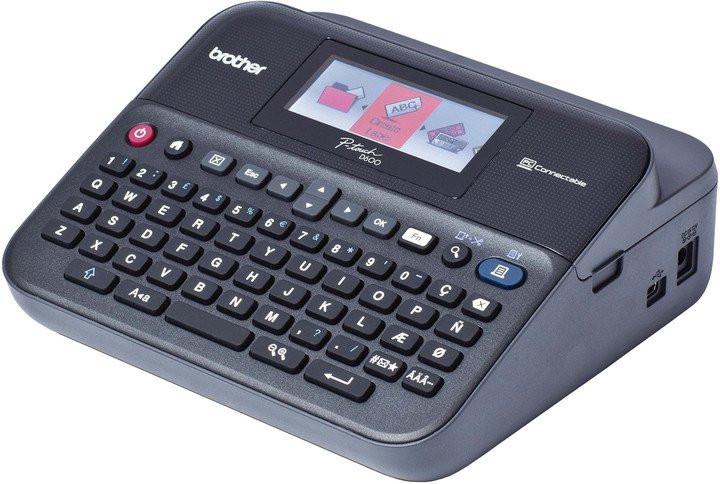 Brother PT-D600VP PTD600VPYJ1 s kufrem tiskárna štítků