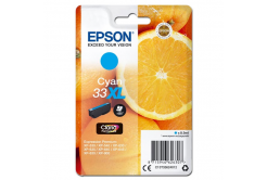 Epson originální ink C13T33624012, T33XL, cyan, 8, 9ml, Epson Expression Home a Premium XP-530, 630, 635, 830