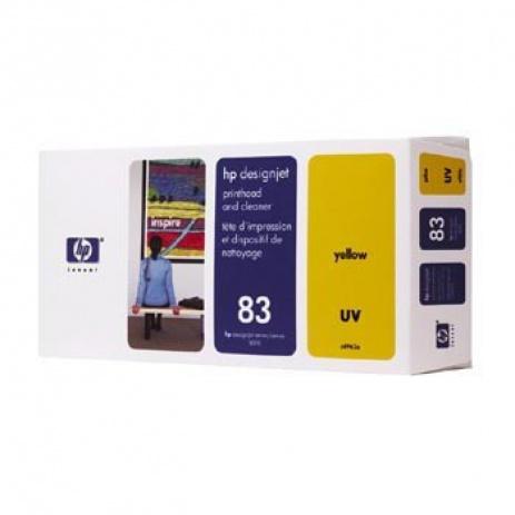 HP 83 C4963A galben (yellow) cap de imprimare original