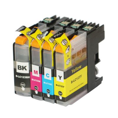 Brother LC-123 multipack kompatibilní cartridge