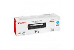 Canon CRG-718 azurový (cyan) originální toner