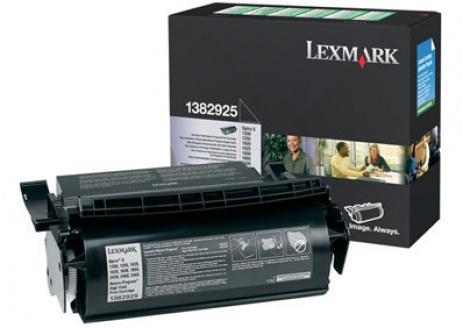 Lexmark 1382925 fekete (black) eredeti toner