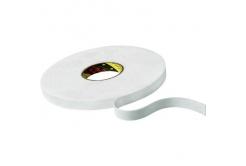 3M 9508W Montážní pěnová oboustranná páska, bílá, 9 mm x 66 m