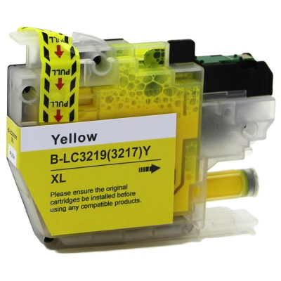 Brother LC-3217XL / LC-3219XL žlutá (yellow) kompatibilní cartridge