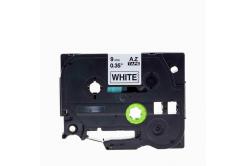 Brother TZe-V221, 9mm x 5,5m, černý tisk / bílý podklad, vinyl, kompatibilní páska