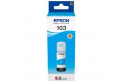Epson 103 azurová (cyan) originální cartridge