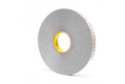 3M VHB 4936-P, 12 mm x 3 m, světle šedá oboustranně silně lepicí akrylová páska, tl. 0,64 mm