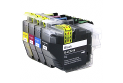 Brother LC-3217XL / LC-3219XL multipack kompatibilní cartridge