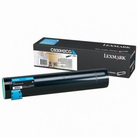 Lexmark C930H2CG błękitny (cyan) toner oryginalny