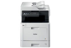 Brother multifunkce color laserová DCP-L8410CDW  - A4, 31ppm 512MB 2400x600 PCL LAN USB WiFi 250l 50ADF, DUPLEX