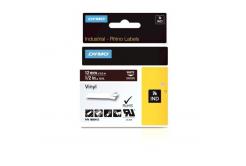 Dymo Rhino 1805412, 12mm x 5,5m, bílý tisk/hnědý podklad, originální páska