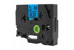 Kompatibilní páska s Brother TZ-S531 / TZe-S531, 12mm x 8m, extr.adh. černý tisk / modrý p
