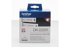 Brother DK-22251, 62mm x 15,24m, papírová role