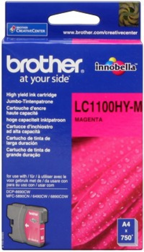 Brother LC-1100HYM purpuriu (magenta) cartus original