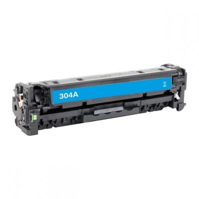 HP 304A CC531A azurový (cyan) kompatibilní toner