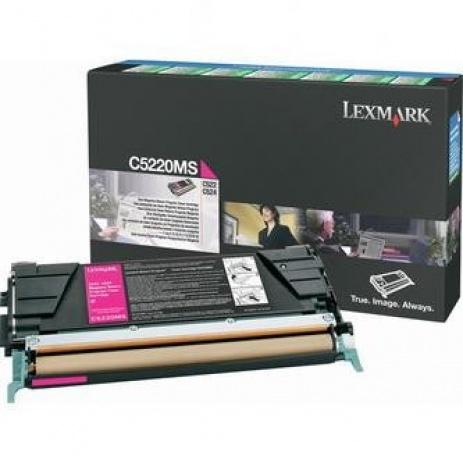 Lexmark C5220MS bíborvörös (magenta) eredeti toner