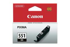 Canon CLI-551BK, 6508B001 černá (black) originální cartridge