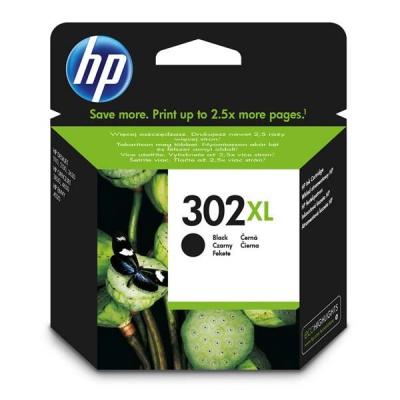 HP 302XL F6U68AE černá (black) originální inkoustová cartridge