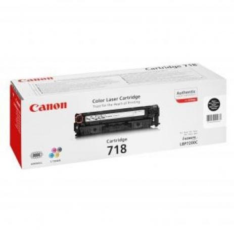 Canon CRG-718 fekete (black) eredeti toner