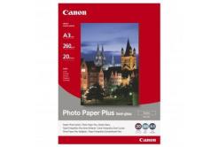 Canon Photo Paper Plus Semi-Glossy, foto papír, pololesklý, saténový, bílý, A3, 260 g/m2, 20