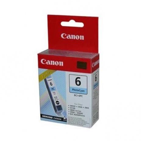 Canon BCI-6PC photo azuriu (photo cyan) cartus original