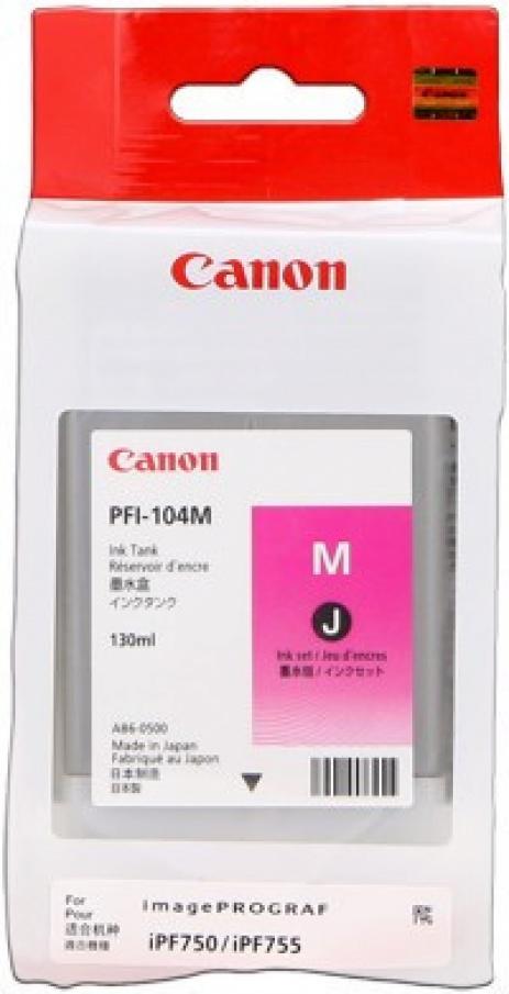 Canon PFI-104M purpuriu (magenta) cartus original