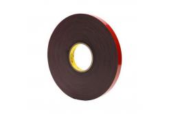 3M VHB 4611-F, 15 mm x 3 m, tmavošedá oboustranně lepicí akrylová páska, tl. 1,1 mm