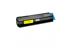 OKI 42804537 žltý (yellow) kompatibilný toner