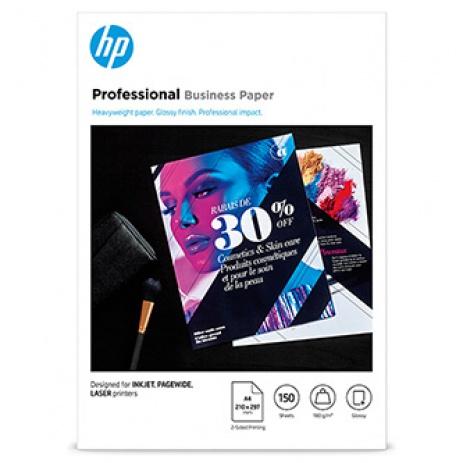 HP PROF BIZ FSC, papír, lesklý, bílý, A4, 180 g/m2, 150 ks, 3VK91A, nespecifikováno